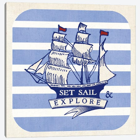 On The Coast II Canvas Print #WAC5431} by Studio Mousseau Canvas Art Print