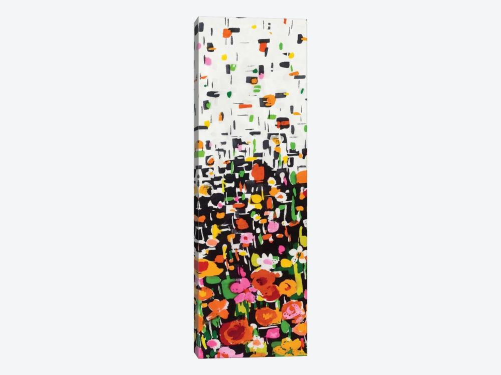 Flower Shower II by Wild Apple Portfolio 1-piece Canvas Art