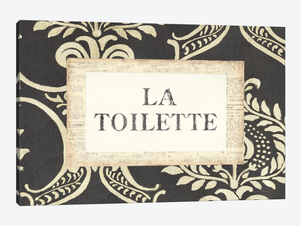 La Toilette by Emily Adams 1-piece Canvas Art Print