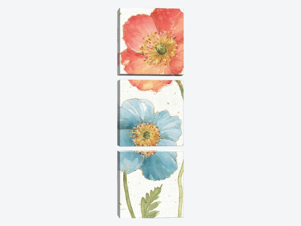 Spring Softies V by Lisa Audit 3-piece Canvas Artwork