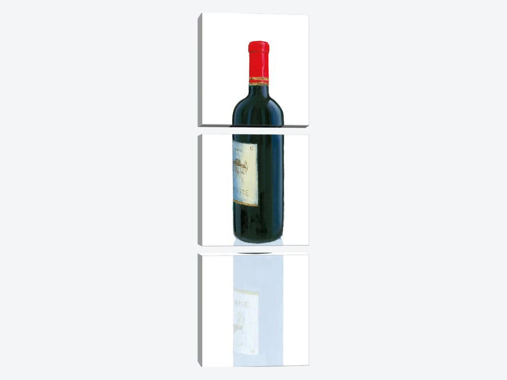 Wine Stance II by Marco Fabiano 3-piece Canvas Wall Art
