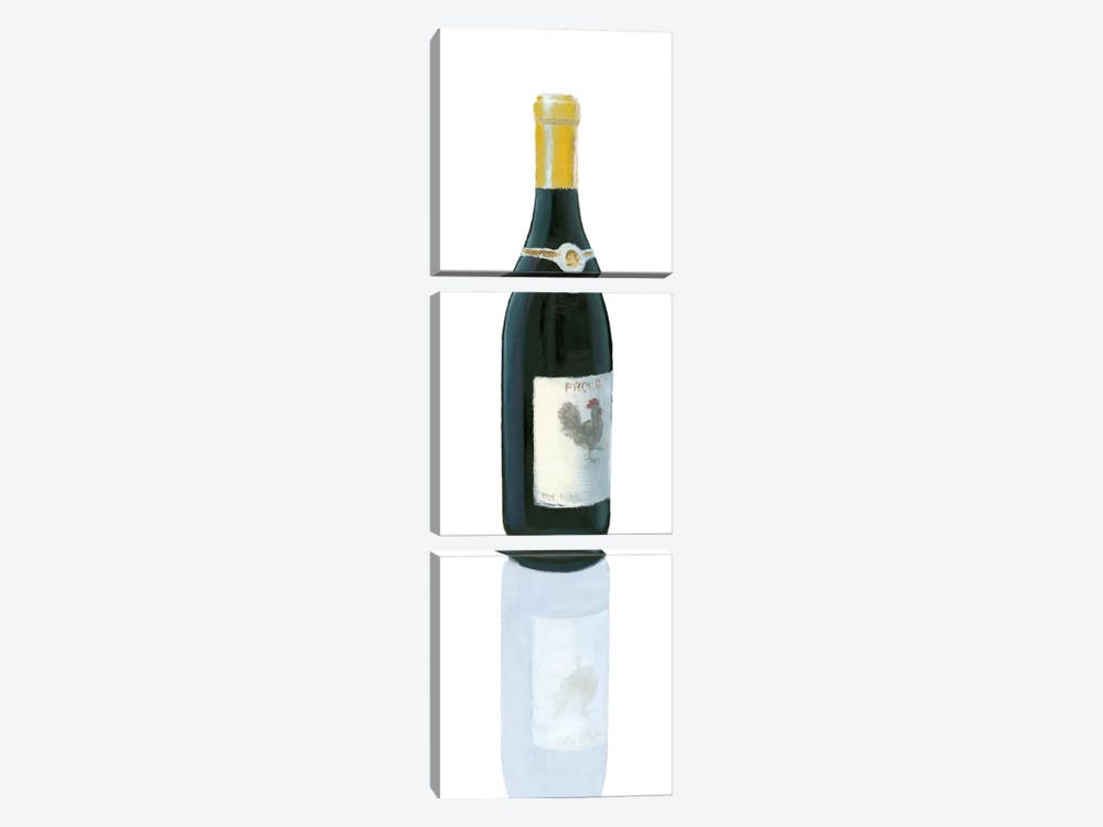 Wine Stance IV by Marco Fabiano 3-piece Canvas Artwork