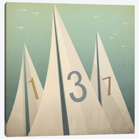 Sails VII Canvas Print #WAC5448} by Ryan Fowler Canvas Art
