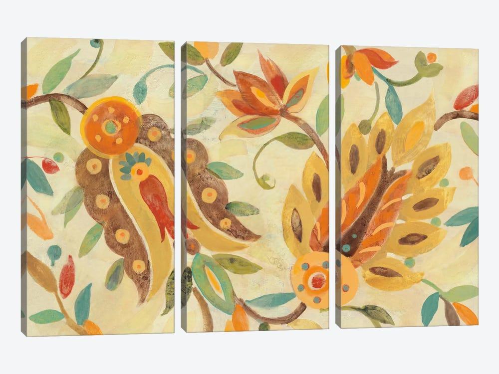 Two Step Spice by Albena Hristova 3-piece Canvas Artwork