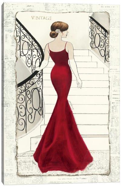 La Belle Rouge Canvas Art Print