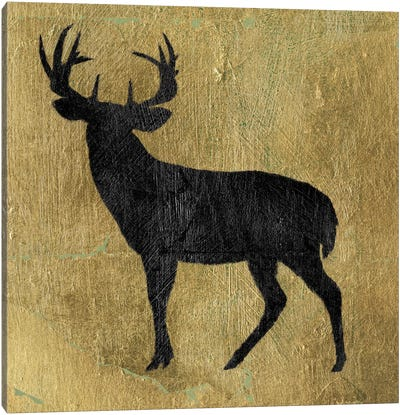 Golden Lodge I Canvas Print #WAC5463
