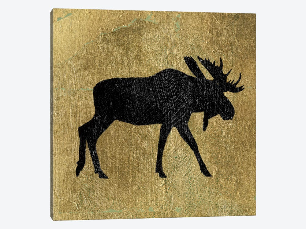 Golden Lodge III by James Wiens 1-piece Canvas Art