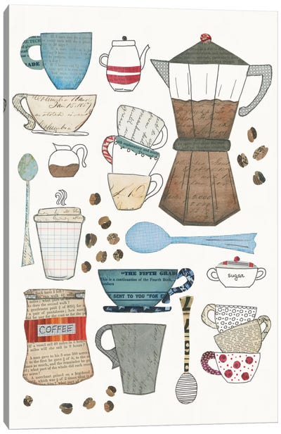 Coffee Chart I Canvas Art Print