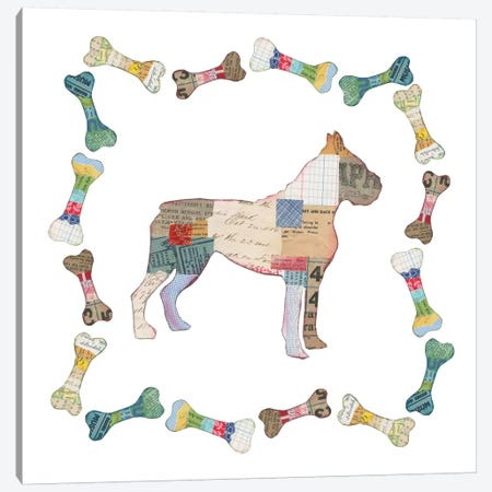 Good Dog I Canvas Print #WAC5491} by Courtney Prahl Canvas Art Print
