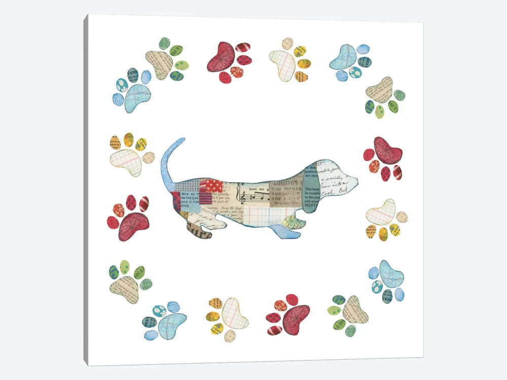 Good Dog III by Courtney Prahl 1-piece Art Print