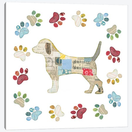 Good Dog IV Canvas Print #WAC5494} by Courtney Prahl Canvas Artwork