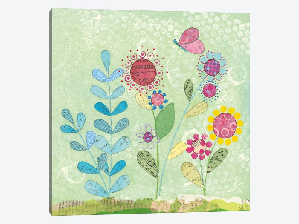 Patty's Garden II by Courtney Prahl 1-piece Canvas Wall Art