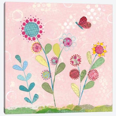Patty's Garden IV Canvas Print #WAC5498} by Courtney Prahl Art Print