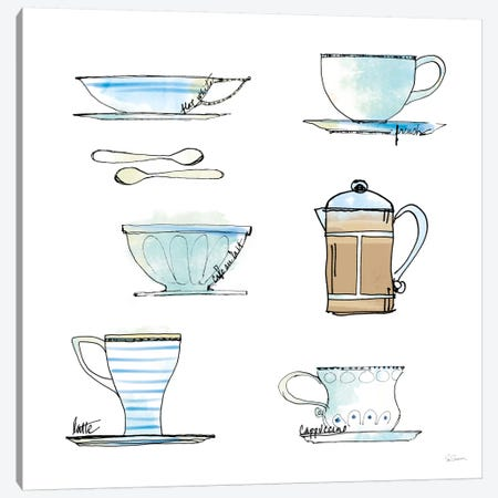 Good Brew XI Canvas Print #WAC5500} by Sue Schlabach Art Print