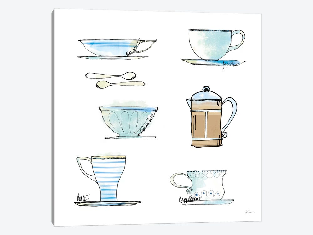 Good Brew XI by Sue Schlabach 1-piece Canvas Artwork