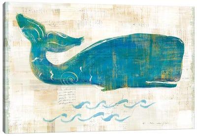 On The Waves I Canvas Art Print