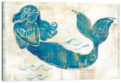 On The Waves II Canvas Art Print