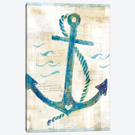 On The Waves IV 3-Piece Canvas #WAC5505} by Sue Schlabach Canvas Art