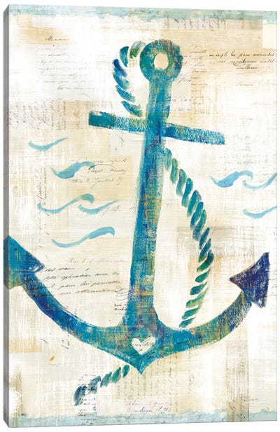 On The Waves IV Canvas Art Print