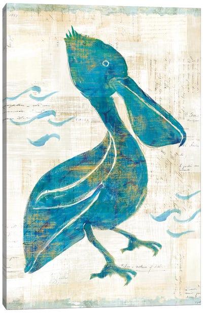 On The Waves V Canvas Art Print