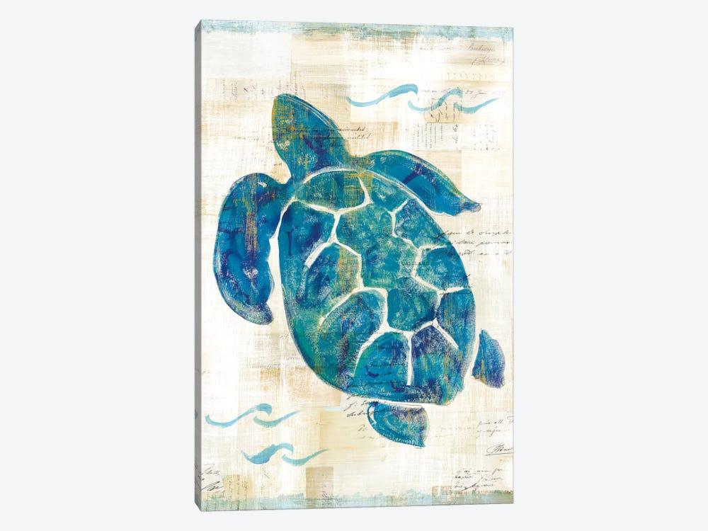 On The Waves VI by Sue Schlabach 1-piece Canvas Art Print