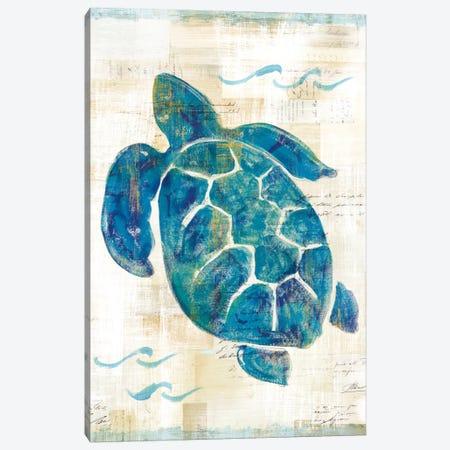 On The Waves VI Canvas Print #WAC5507} by Sue Schlabach Canvas Art