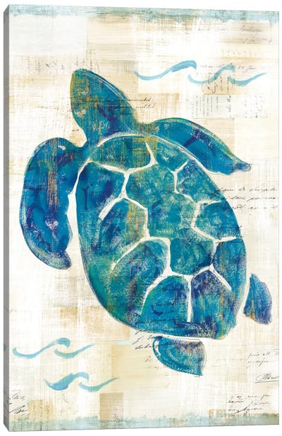 On The Waves VI Canvas Art Print