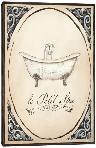 Le Petit Spa I Canvas Art Print