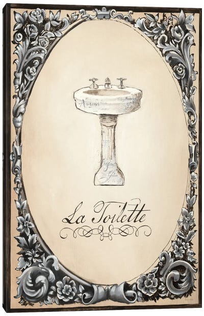 Le Petit Spa II Canvas Art Print