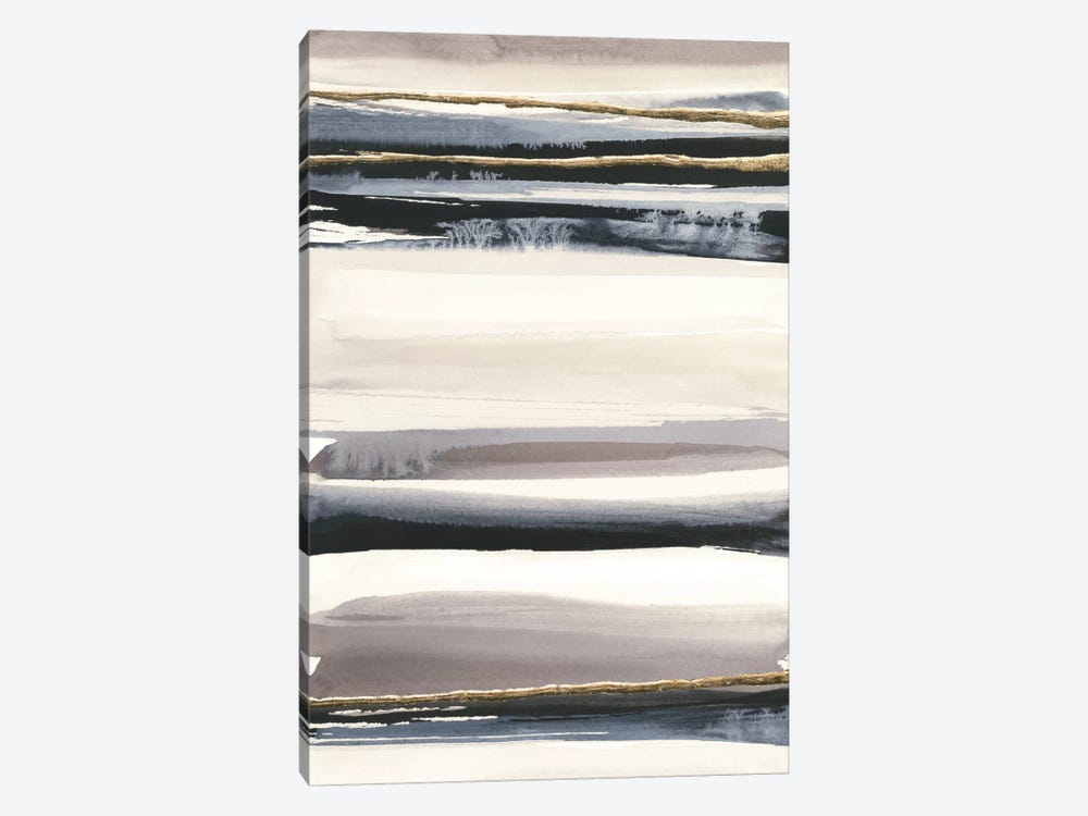 Gilded Grey III by Chris Paschke 1-piece Canvas Wall Art