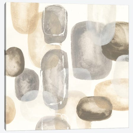 Neutral Stones I Canvas Print #WAC5530} by Chris Paschke Canvas Wall Art