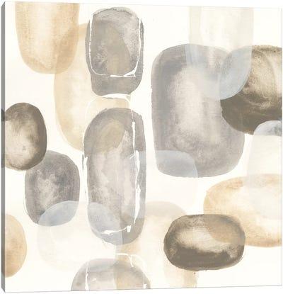 Neutral Stones I Canvas Print #WAC5530