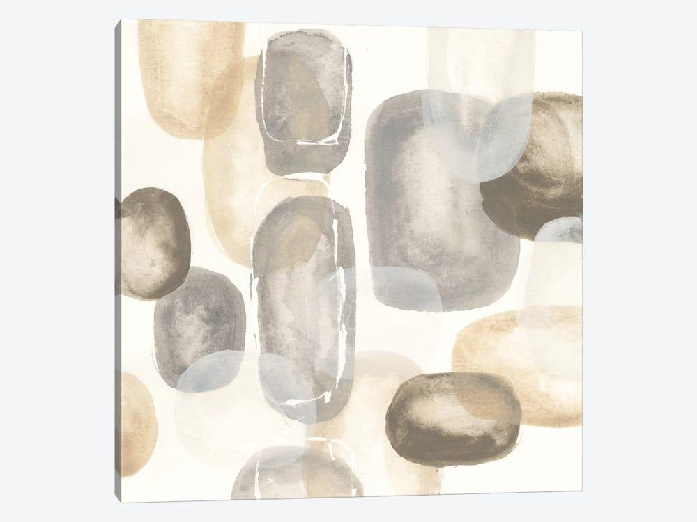 Neutral Stones I by Chris Paschke 1-piece Canvas Print