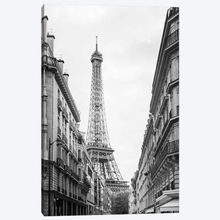 Eiffel Glimpse Canvas Print #WAC5532} by Laura Marshall Canvas Artwork