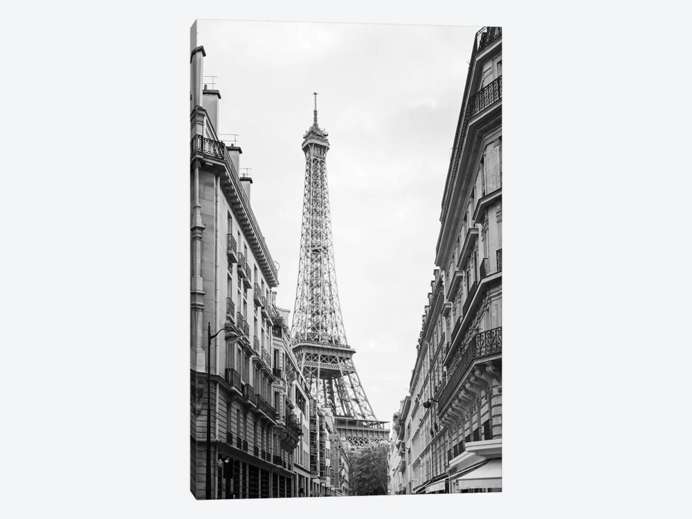 Eiffel Glimpse 1-piece Art Print