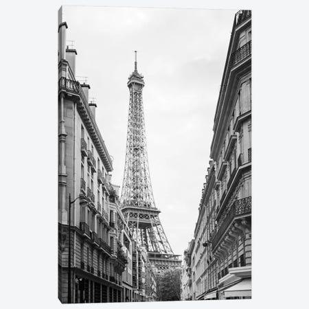 Eiffel Glimpse Canvas Print #WAC5532} by Laura Marshall Canvas Artwork