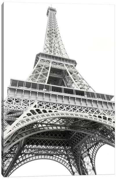 Eiffel Up Close Canvas Art Print