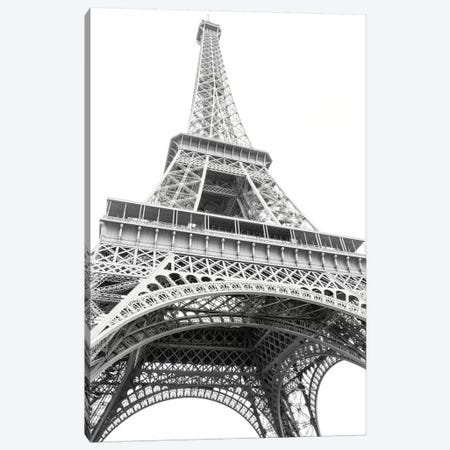 Eiffel Up Close Canvas Print #WAC5533} by Laura Marshall Canvas Art