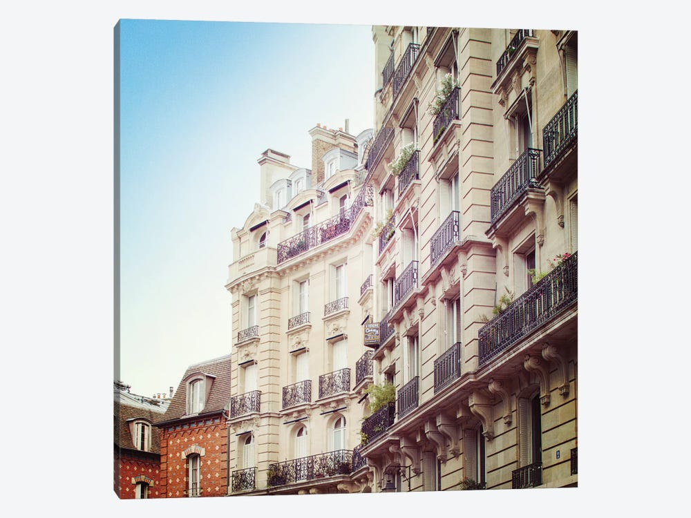 Paris Moments III by Laura Marshall 1-piece Art Print