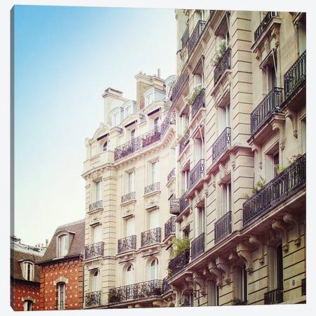 Paris Moments III Canvas Print #WAC5536} by Laura Marshall Canvas Art Print