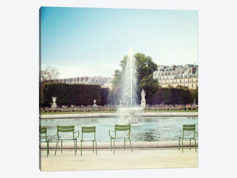 Paris Moments V by Laura Marshall 1-piece Canvas Print