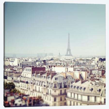 Paris Moments VI Canvas Print #WAC5539} by Laura Marshall Canvas Wall Art