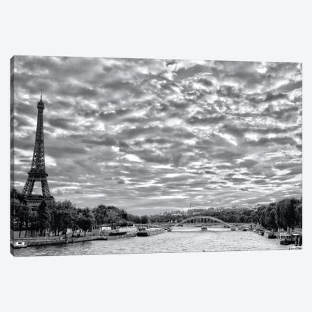 The City Of Love Canvas Print #WAC5542} by Laura Marshall Art Print