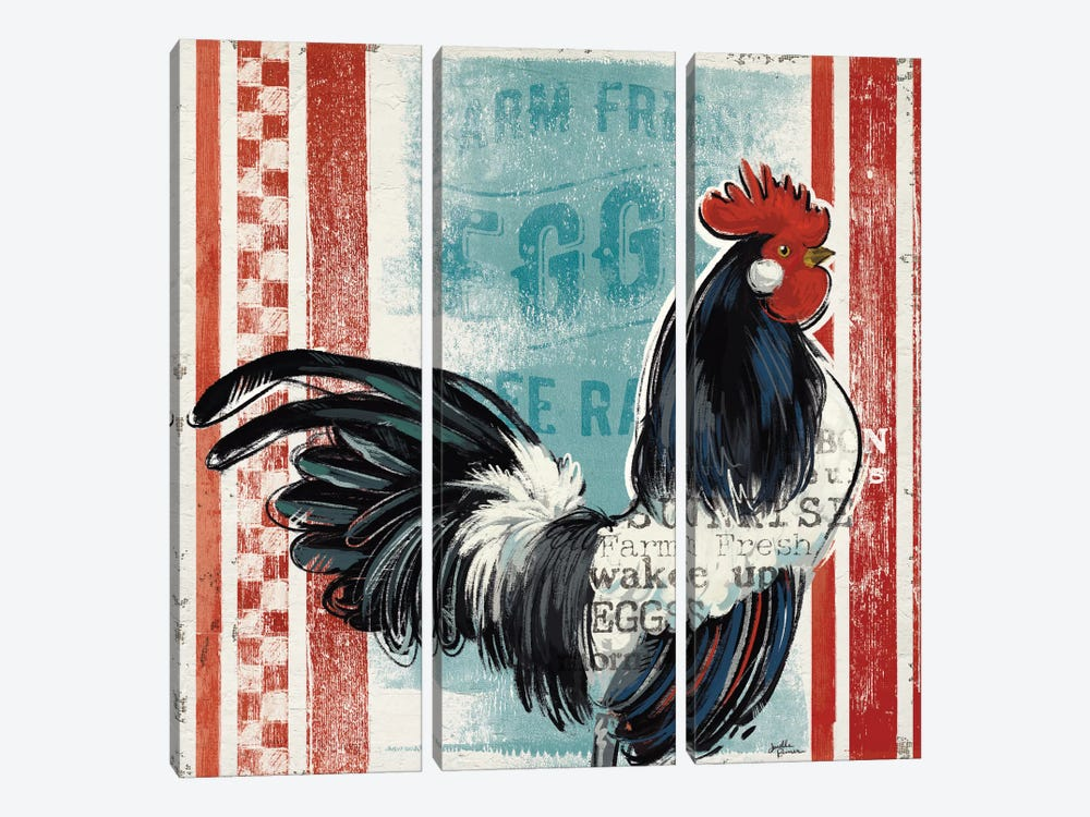 Morning News I by Janelle Penner 3-piece Art Print