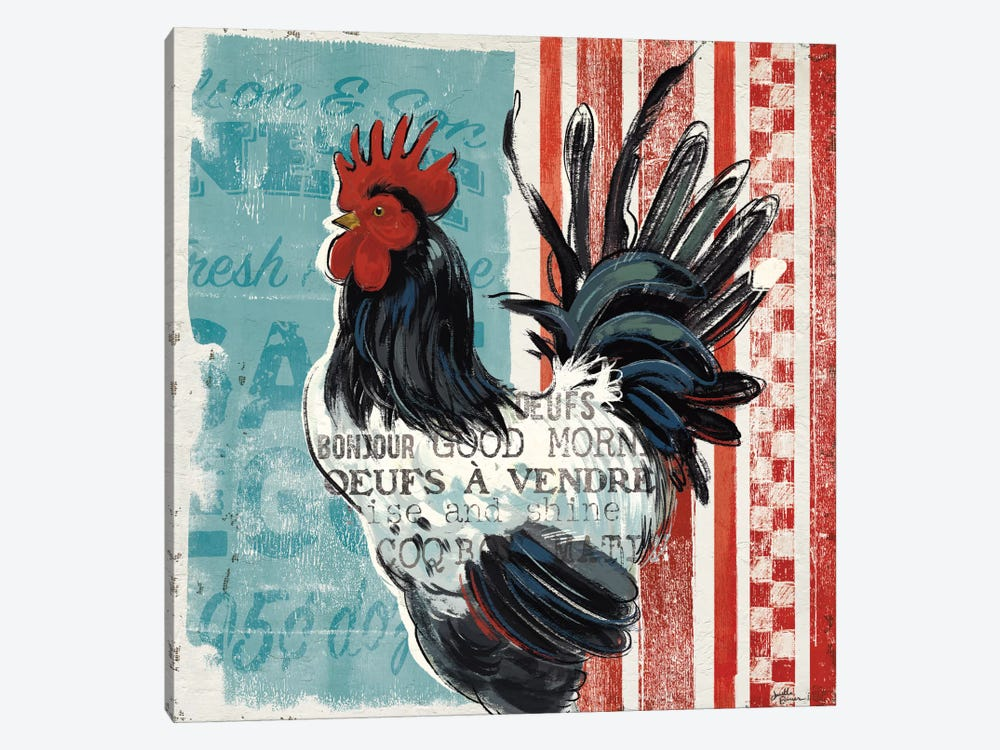 Morning News II by Janelle Penner 1-piece Canvas Artwork