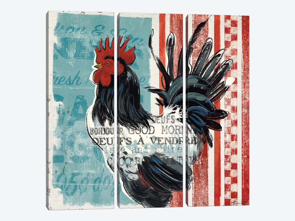 Morning News II by Janelle Penner 3-piece Canvas Artwork