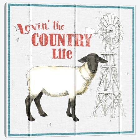 Farm To Table I Canvas Print #WAC5562} by Beth Grove Canvas Art Print