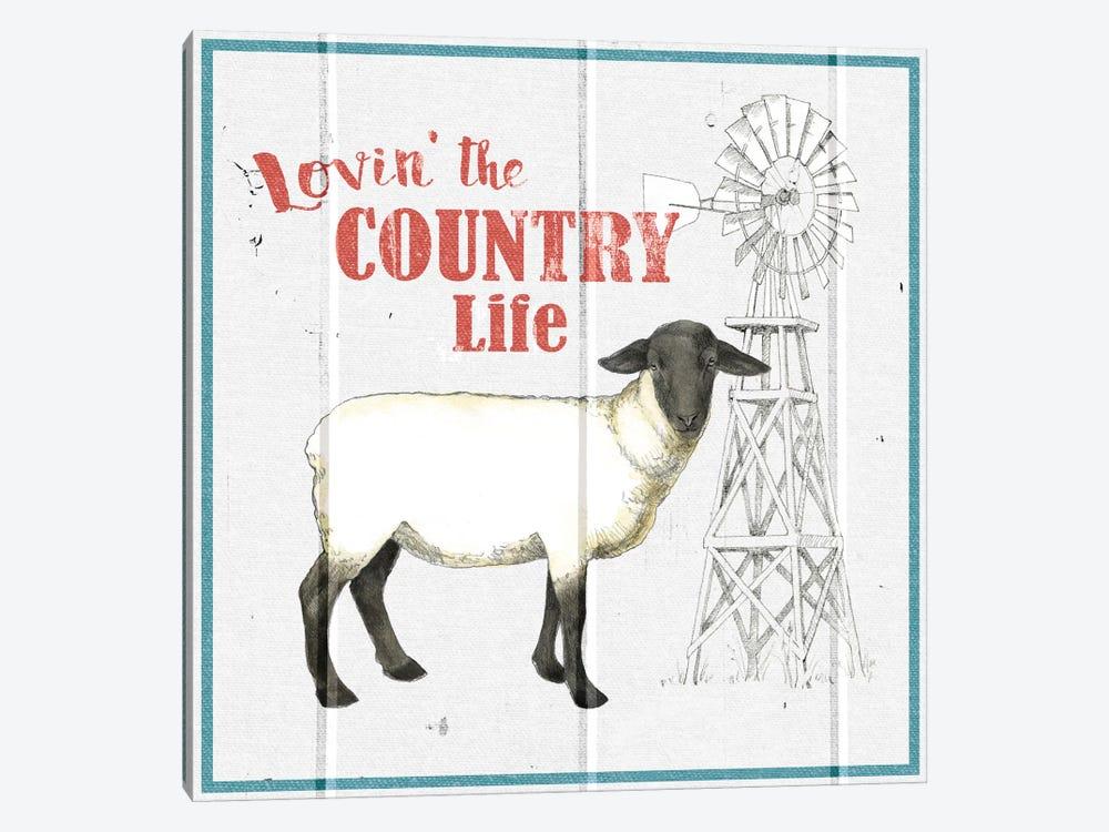 Farm To Table I by Beth Grove 1-piece Canvas Artwork