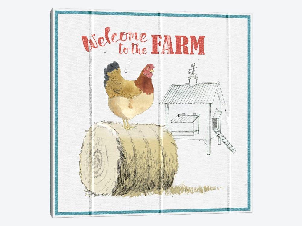 Farm To Table V by Beth Grove 1-piece Canvas Art Print