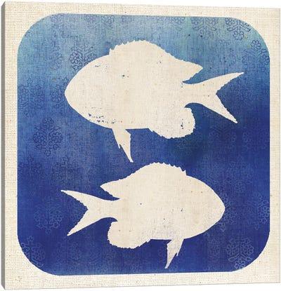 Watermark Fish Canvas Art Print